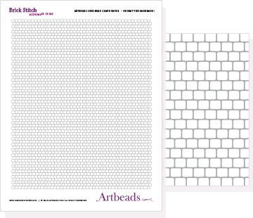 Brick Stitch with Cylinder Beads