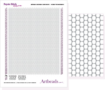 Free Graph Paper: Peyote Stitch with Round Beads