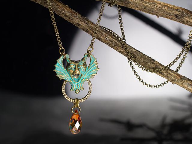 La Gargouille Necklace design